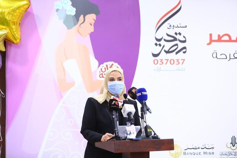 وزيرة التضامن: مبادرة دكان الفرحة بداية سعيدة للفتيات الأولى بالرعاية