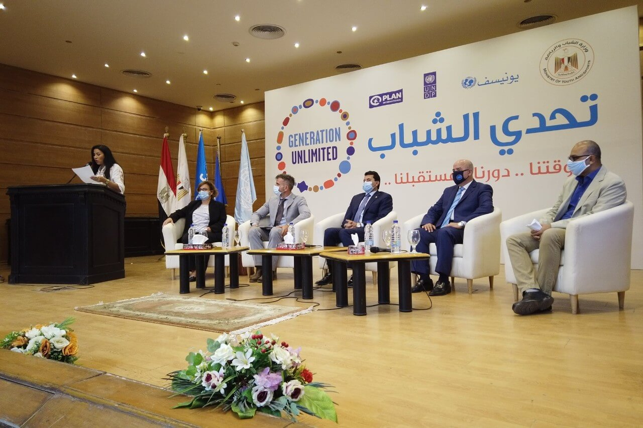5 Egyptian winners in GenU-Youth Challenge 2020 honored
