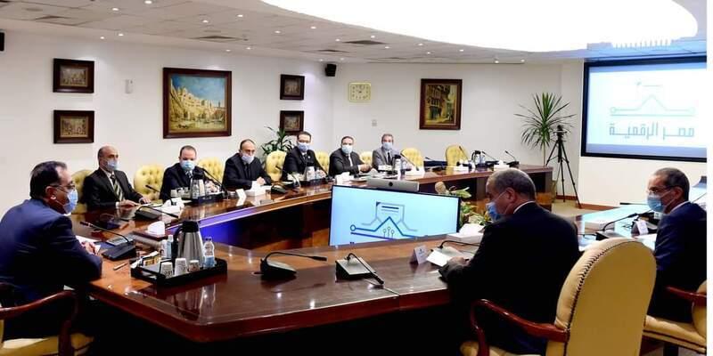 رئيس الوزراء يتابع جهود توفير الخدمات من خلال «منصة مصر الرقمية»
