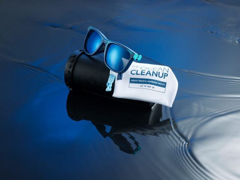 Ocean Cleanup debuts its first sunglasses made from plastic waste