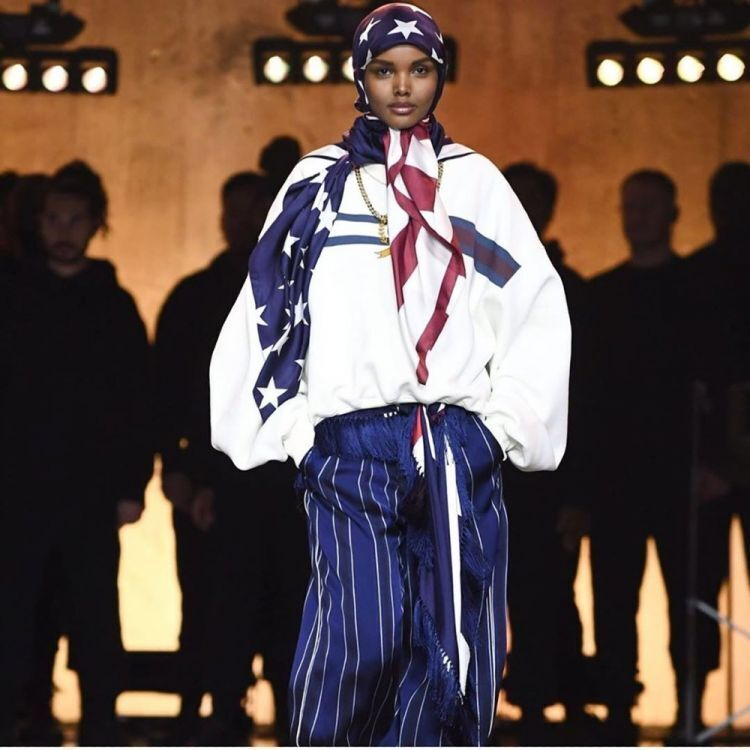 Halima Aden launches charitable t-shirt with Tommy Hilfiger