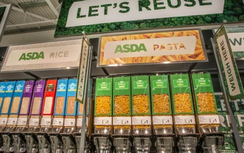 Asda opens 'sustainability store' with cereals in refillable containers and fruit sold loose