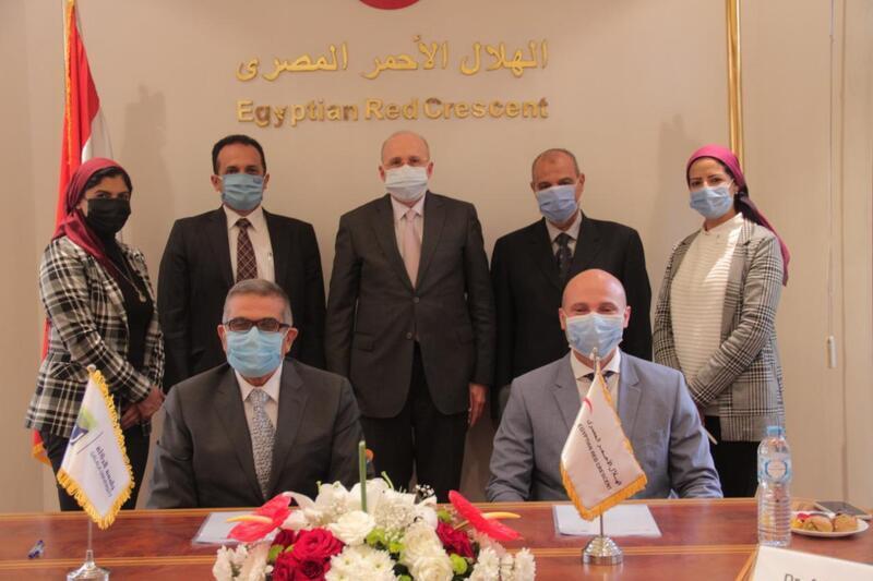 بروتوكول تعاون بين الهلال الأحمر وجامعة الجلالة الأهلية لدعم أنشطة الجمعية