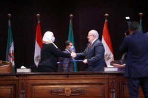 بروتوكول تعاون لإنشاء وحدة للتضامن الاجتماعى في جامعة القاهرة
