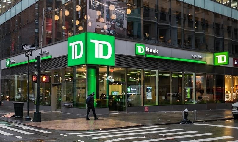 TD Bank seeks net-zero emissions by 2050