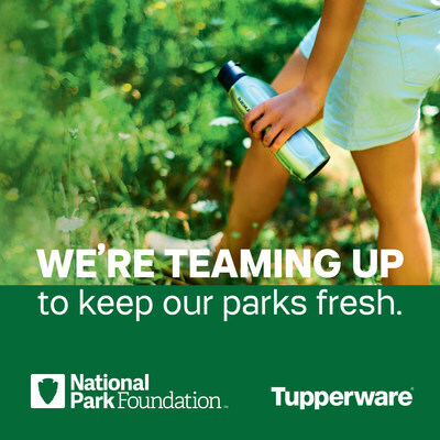 Tupperware donates $ 1m to US National Park Foundation to cut waste