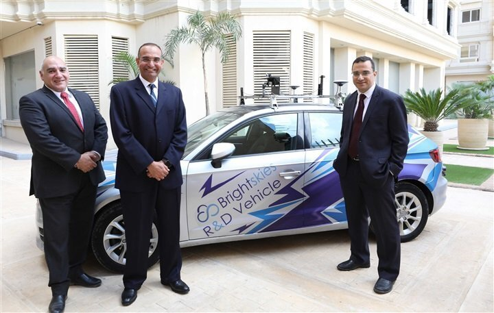 Brightskies introduces 1st Egyptian self-driving car system