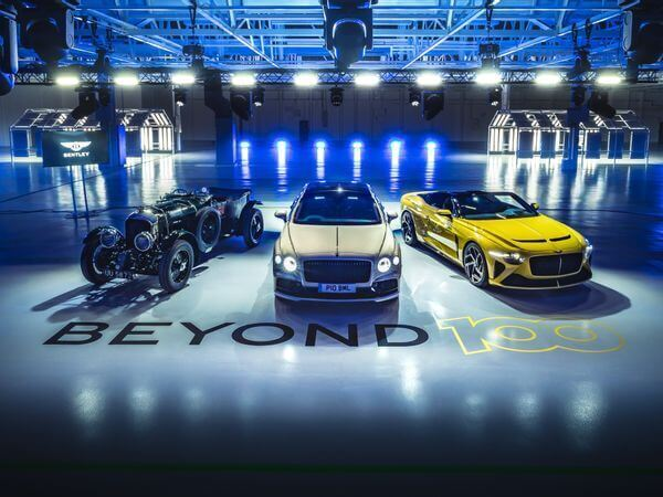 Bentley to sell only fully electric cars by 2030