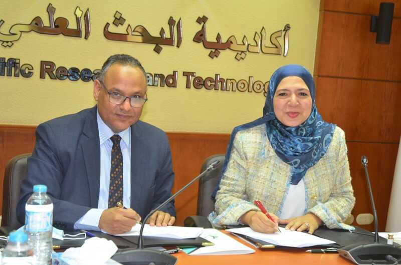 بروتوكول تعاون بين أكاديمية البحث العلمي و«نهضة مصر» لاحتضان الشركات الناشئة