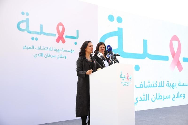 رئيس المجلس القومي للمرأة تشهد وضع حجر أساس «بهية» الشيخ زايد