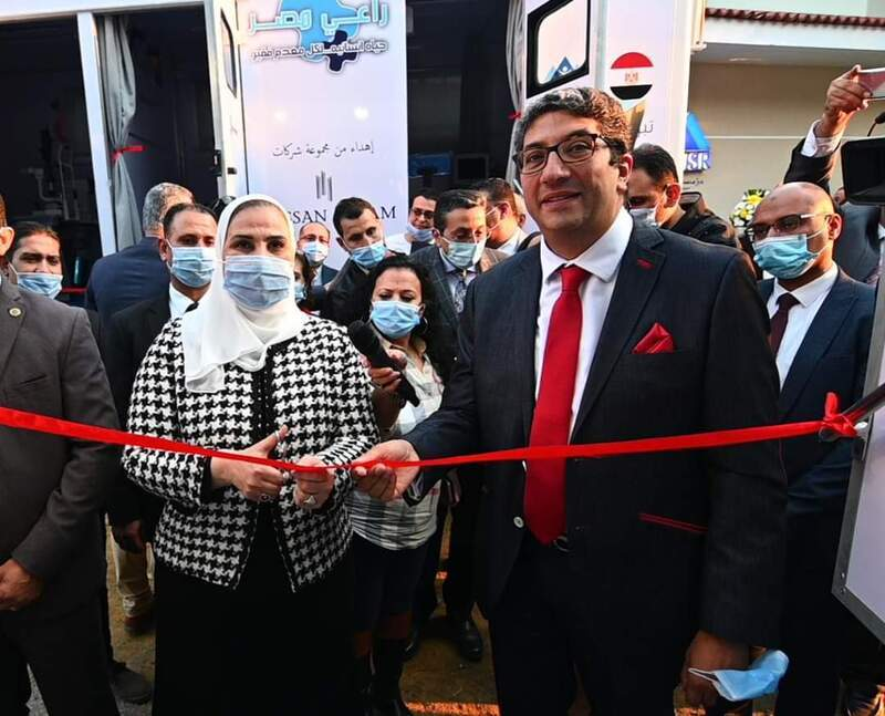 وزيرة التضامن تشهد افتتاح مؤسسة «راعي مصر للتنمية»