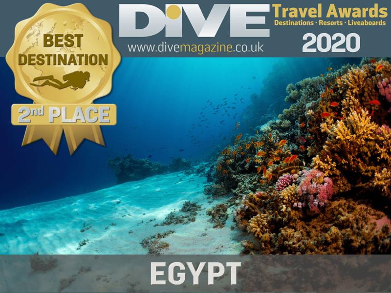 Dive Magazine: Egypt 2nd world best diving destination for 2nd year