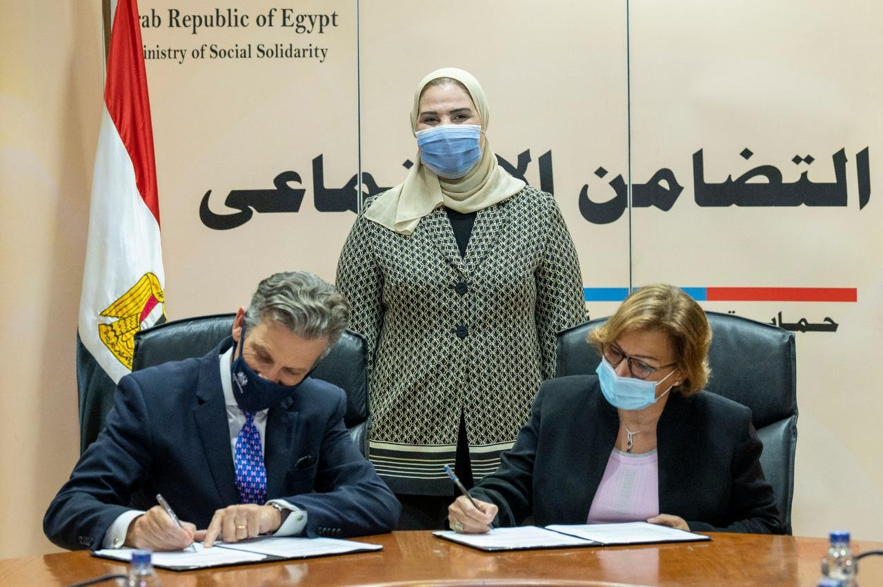 UK allocates £1.8 m to back UNDP's social protection project in Egypt