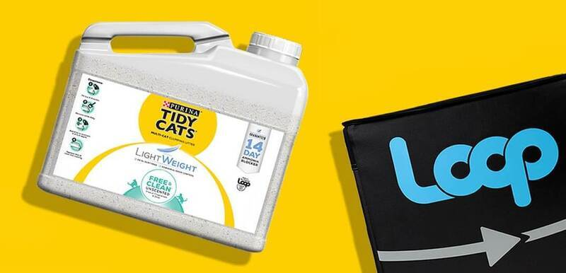 First refillable container for cat litter debuts in US
