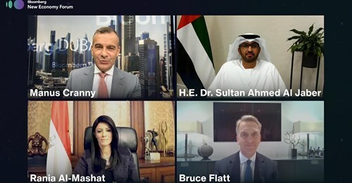 """Bloomberg selects Egypt, UAE """"Regional Champions"""" for rising economies"""