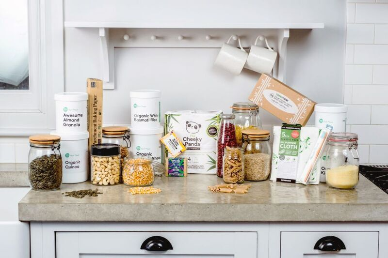 Sustainable online grocer introduces zero-waste delivery service