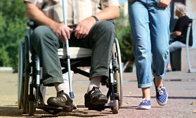 UNDP, Egypt organize 5-km walk to back disabled persons