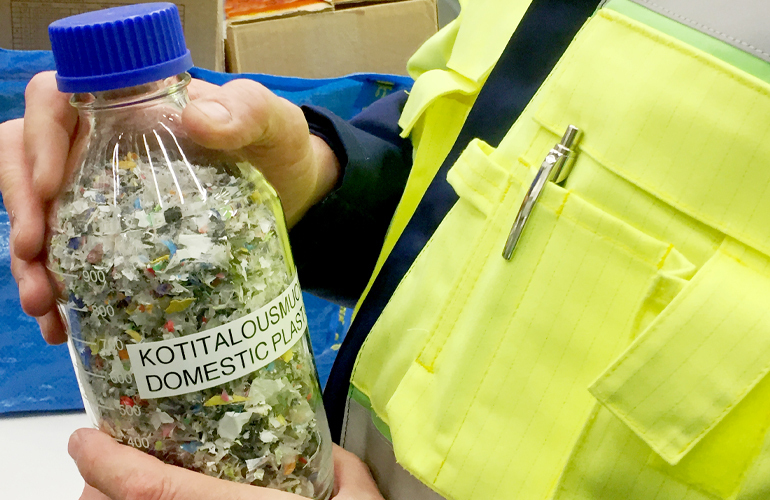 Neste completes first industrial-scale processing run with liquefied waste plastic in Finland