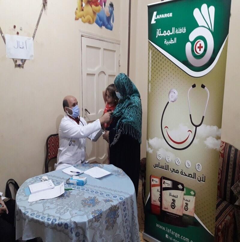 ضمن مسئوليتها المجتمعية .. لافارﭺ مصر تطلق 50قافلة طبية خلال 2020
