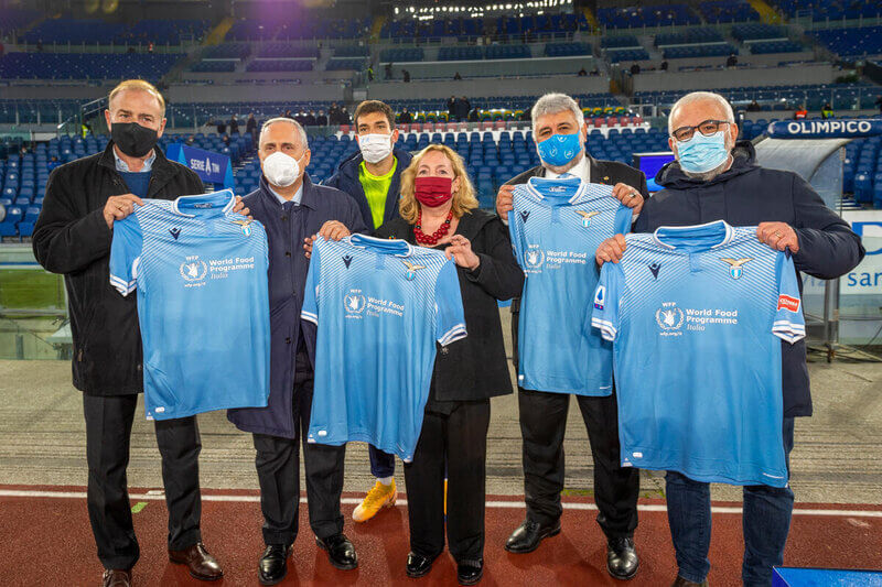 "Rome's football clubs, WFP launch ""Stop the Waste"" campaign"