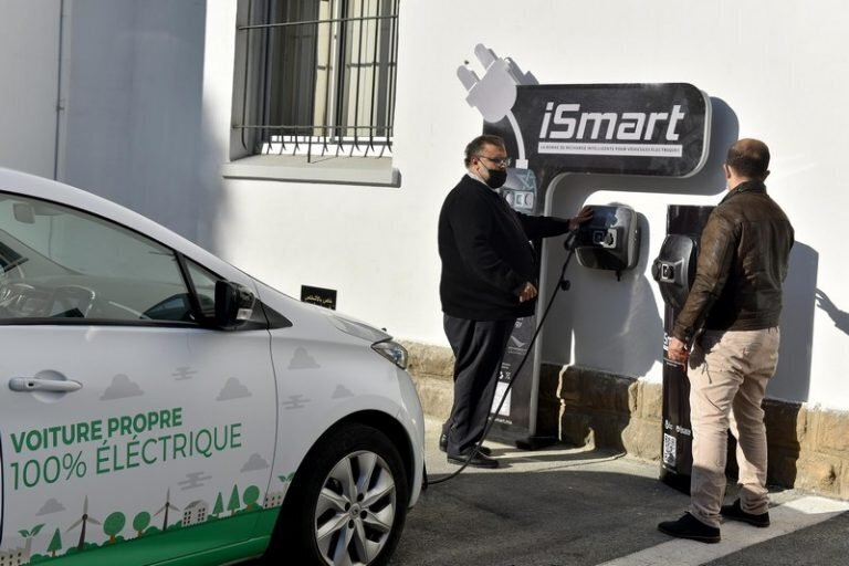 Morocco launches its 1st local-made smart charger of e-vehicles