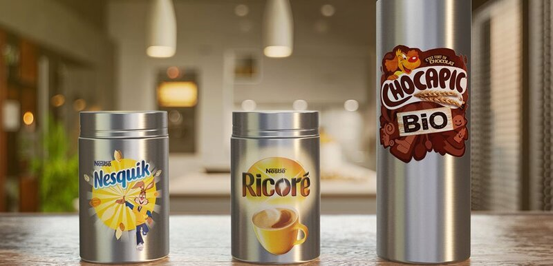 Nestlé to offer reusable containers for three of its products