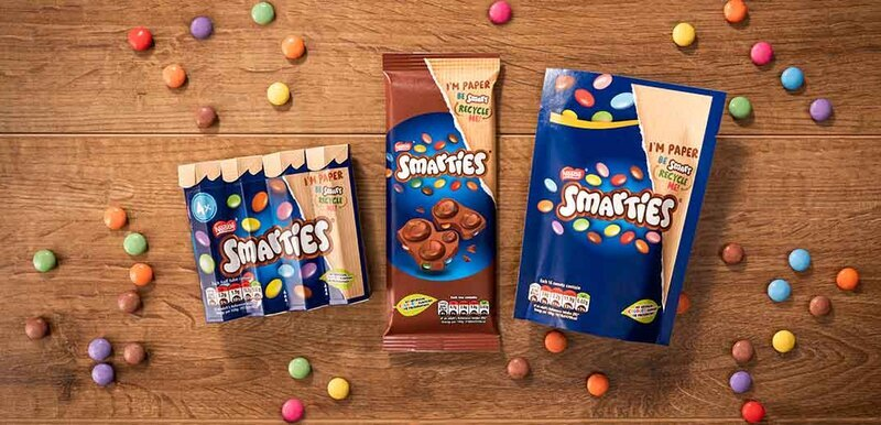 Smarties becomes 1st candy brand to shift to recyclable paper packaging
