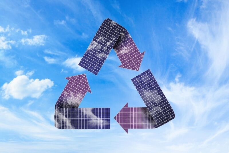 California's new program to increase the recycling of solar panels