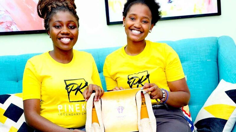 3 Kenyans turn pineapple leaf, recycled rubber into eco-friendly shoes