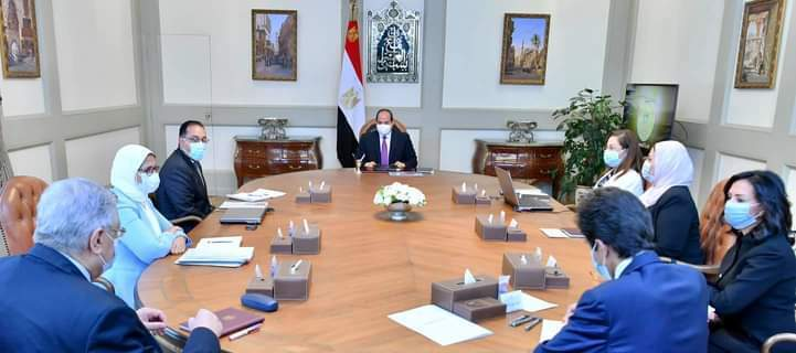 الرئيس السيسي يتابع مستجدات المشروع القومي لتنمية الأسرة المصرية