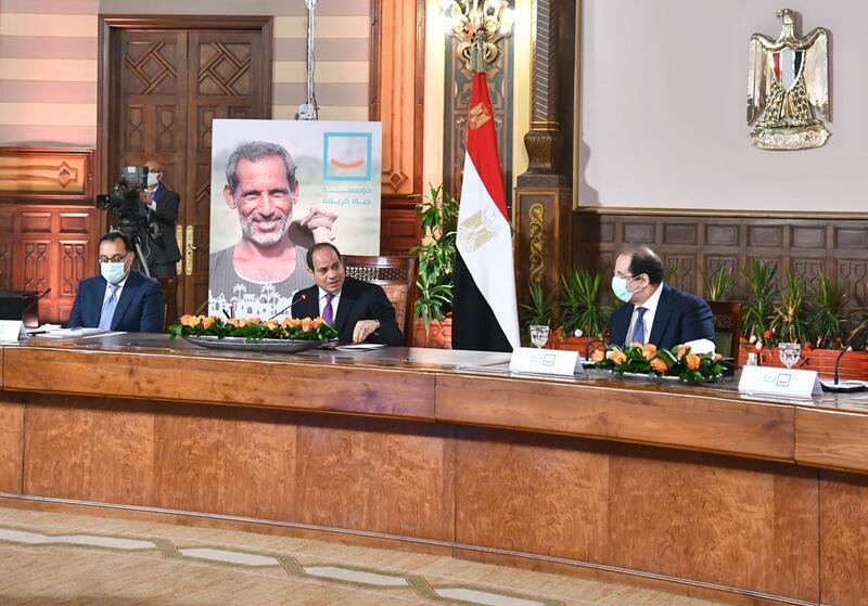السيسي: «حياة كريمة» جاءت بعد مرحلة مفصلية لمصر منذ 2014