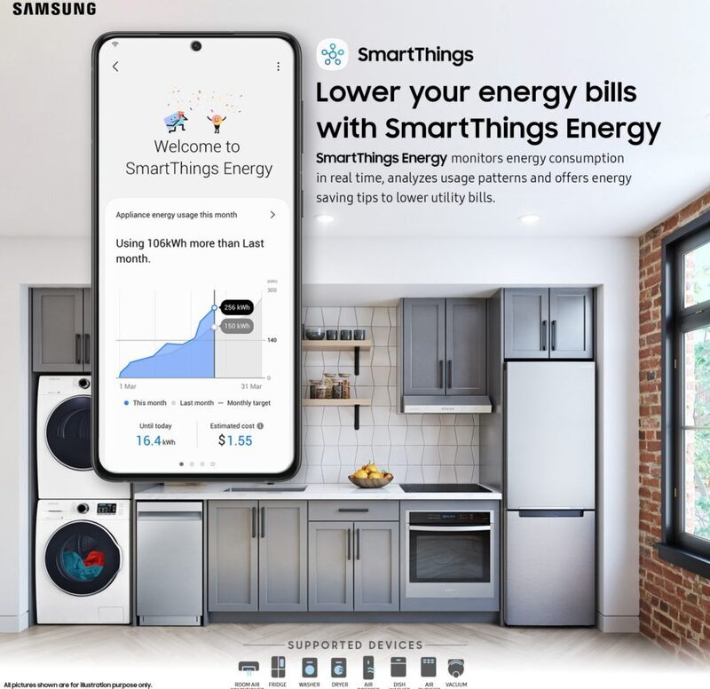 Samsung launches SmartThings Energy app to control energy consumption